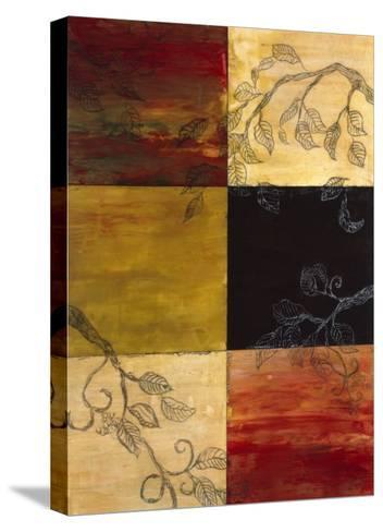Garden Vines I-Ellen Traub-Stretched Canvas Print