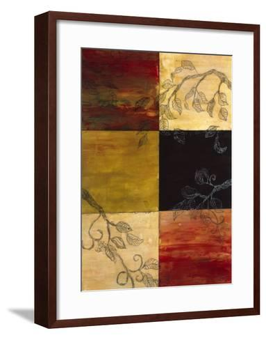 Garden Vines I-Ellen Traub-Framed Art Print