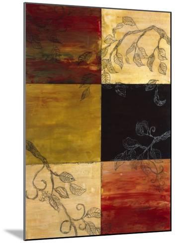 Garden Vines I-Ellen Traub-Mounted Premium Giclee Print