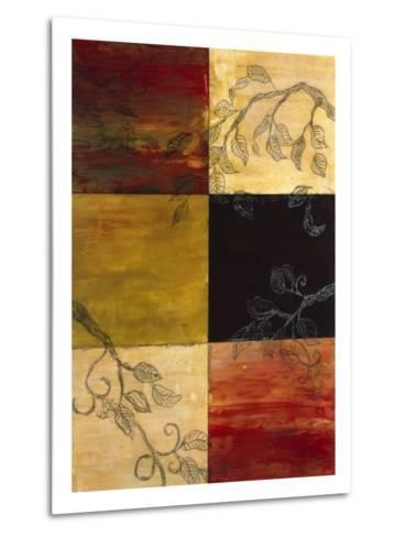 Garden Vines I-Ellen Traub-Metal Print