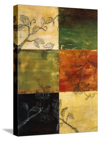 Garden Vines II-Ellen Traub-Stretched Canvas Print