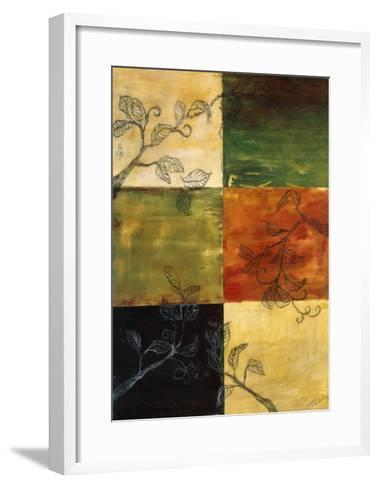 Garden Vines II-Ellen Traub-Framed Art Print
