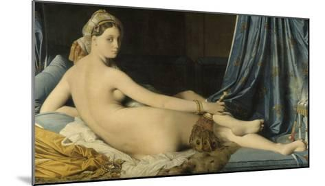 La Grande Odalisque-Jean-Auguste-Dominique Ingres-Mounted Giclee Print