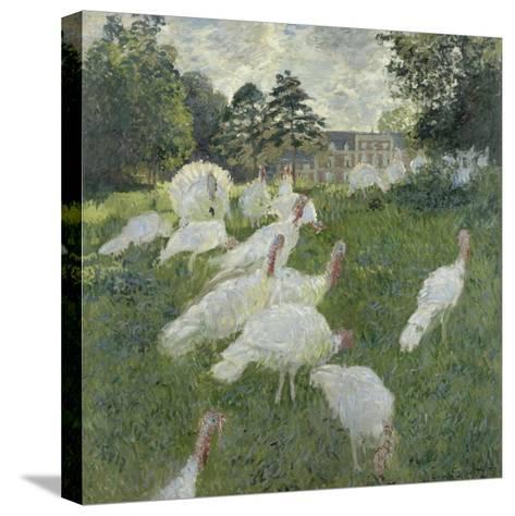 Les dindons-Claude Monet-Stretched Canvas Print