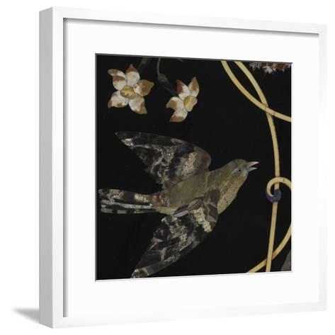 Plateau de table--Framed Art Print