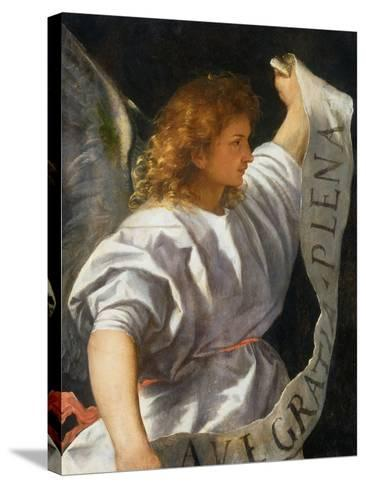 Averoldi Polyptych (detail)-Titian (Tiziano Vecelli)-Stretched Canvas Print