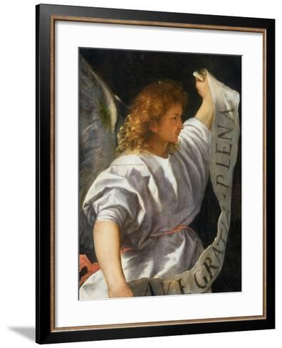 Averoldi Polyptych (detail)-Titian (Tiziano Vecelli)-Framed Art Print