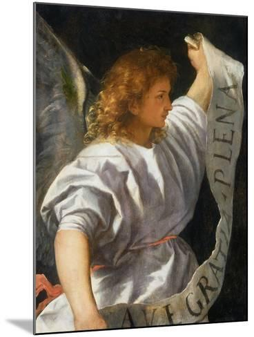 Averoldi Polyptych (detail)-Titian (Tiziano Vecelli)-Mounted Giclee Print
