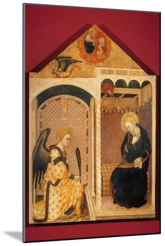 Annunciation-Andrea Di Nerio-Mounted Giclee Print