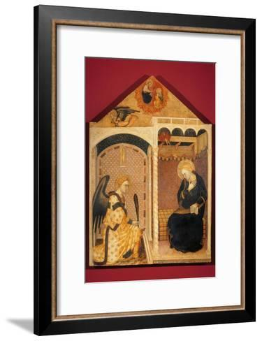 Annunciation-Andrea Di Nerio-Framed Art Print