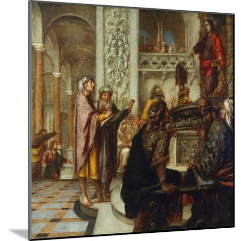 Disputation with the Doctors-Juan de Valdes Leal-Mounted Giclee Print