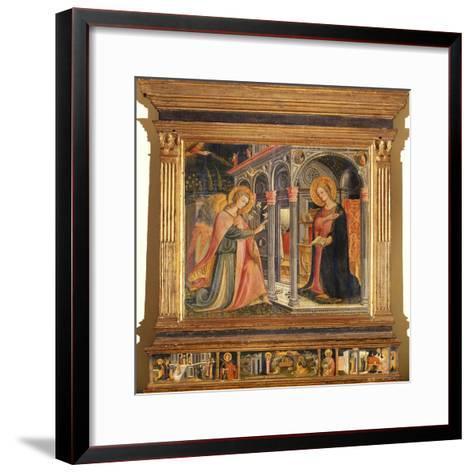 Annunciation- Master of Signa-Framed Art Print