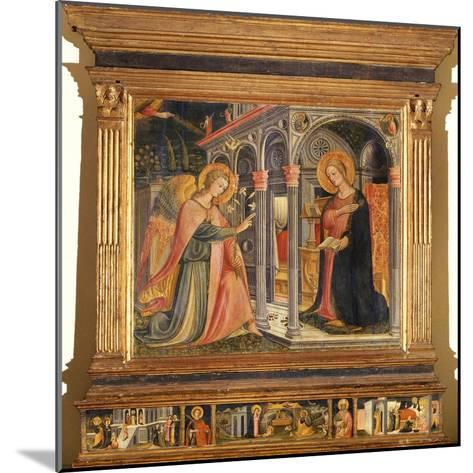 Annunciation- Master of Signa-Mounted Giclee Print