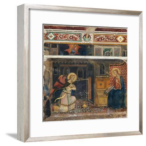 Annunciation--Framed Art Print