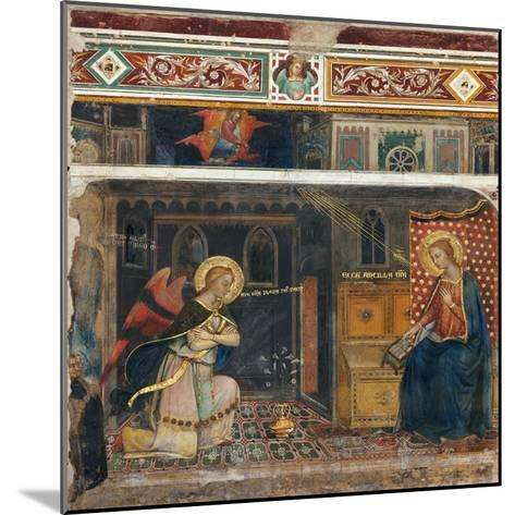 Annunciation--Mounted Giclee Print