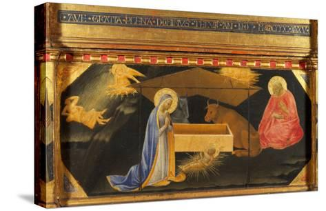 Polyptych, Predella, Nativity-Andrea Di Gusto-Stretched Canvas Print