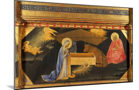 Polyptych, Predella, Nativity-Andrea Di Gusto-Mounted Giclee Print