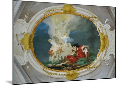 Jacob and the Vision of the Heavenly Ladder-Giambattista Tiepolo-Mounted Giclee Print