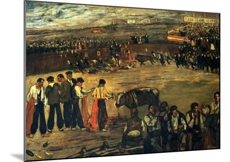 Plaza De Las Ventas-Jose Gutierrez Solana-Mounted Giclee Print