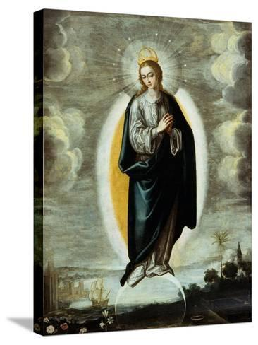 Immaculate Conception-Francisco Pacheco-Stretched Canvas Print