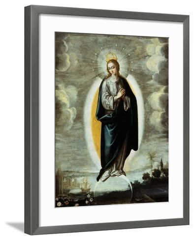 Immaculate Conception-Francisco Pacheco-Framed Art Print