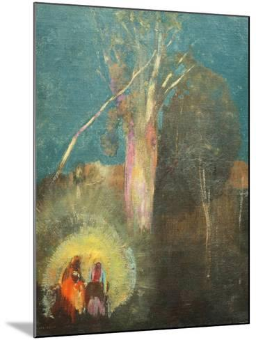 Flight into Egypt-Odilon Redon-Mounted Giclee Print