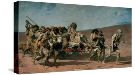 Cain-Fernand Cormon-Stretched Canvas Print