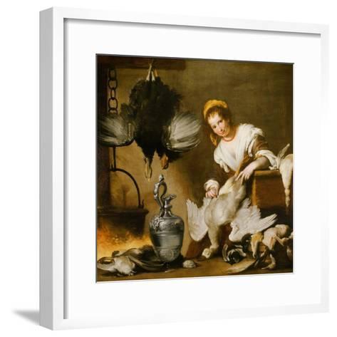 The Cook-Bernardo Strozzi-Framed Art Print