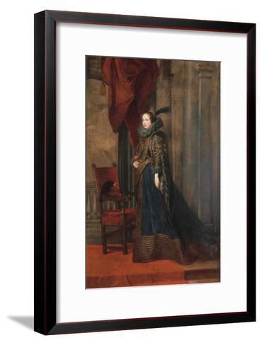 Portrait of Paolina Adorno Brignole Sale-Sir Anthony Van Dyck-Framed Art Print