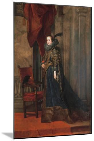 Portrait of Paolina Adorno Brignole Sale-Sir Anthony Van Dyck-Mounted Giclee Print