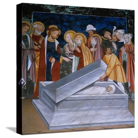 The Resurrection of Lazarus--Stretched Canvas Print