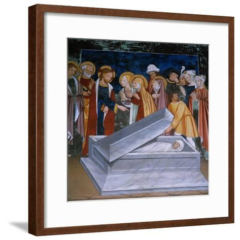 The Resurrection of Lazarus--Framed Art Print