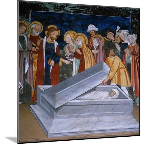 The Resurrection of Lazarus--Mounted Giclee Print