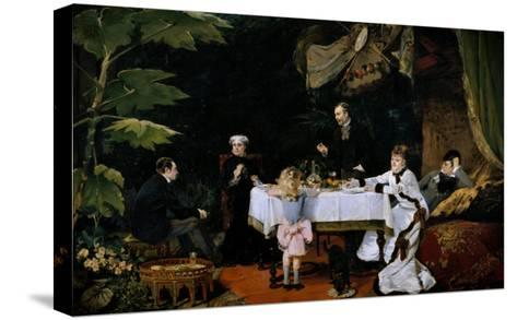 The Breakfast, 1877-Louise Abbema-Stretched Canvas Print