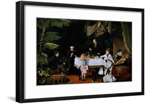 The Breakfast, 1877-Louise Abbema-Framed Art Print