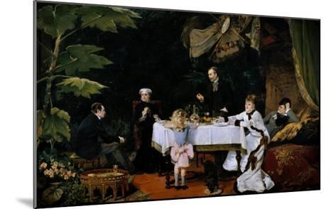 The Breakfast, 1877-Louise Abbema-Mounted Giclee Print