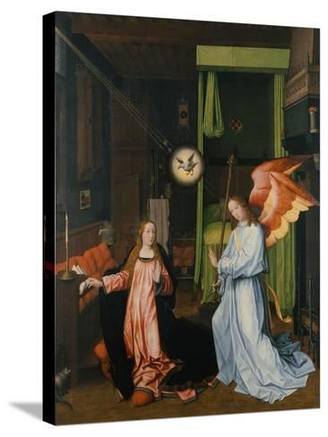 Annunciation-Jan Provost-Stretched Canvas Print