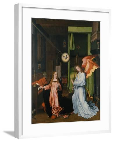 Annunciation-Jan Provost-Framed Art Print