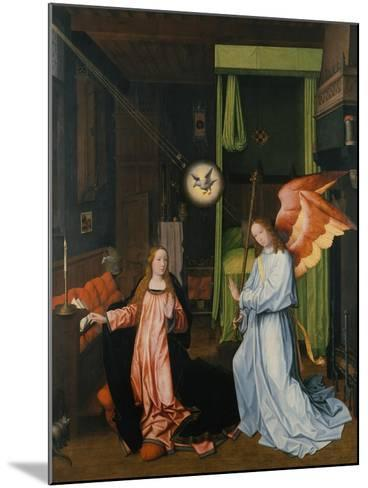 Annunciation-Jan Provost-Mounted Giclee Print