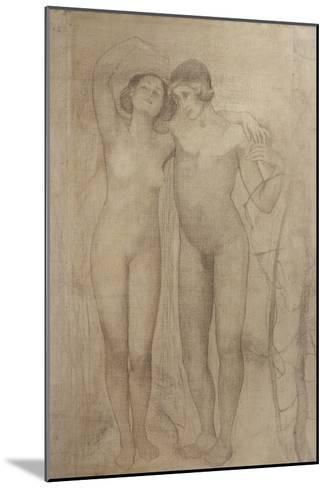 The Lovers-Giovanni Segantini-Mounted Giclee Print