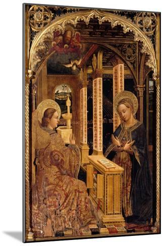 Polyptych with Annunciation and Saints-Mazone Giovanni-Mounted Giclee Print