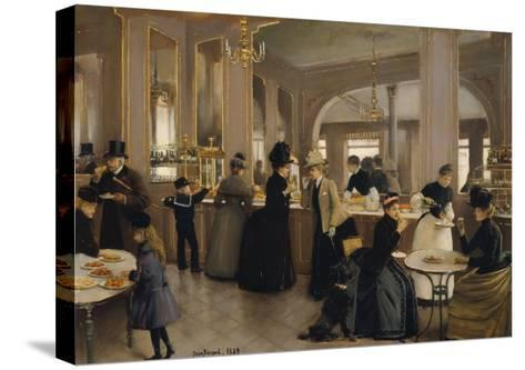 The Pastry Gloppe, 1889-Jean B?raud-Stretched Canvas Print