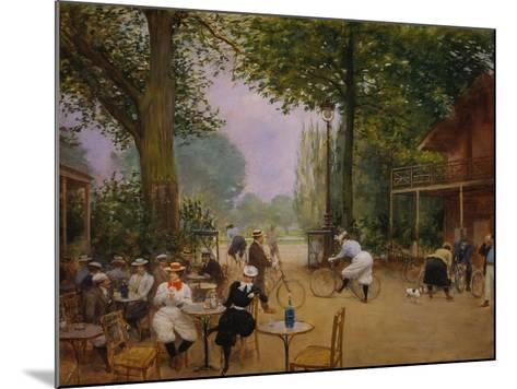The Chalet of the Bicycle at Bois De Boulogne-Jean B?raud-Mounted Giclee Print