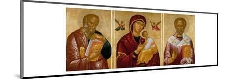 Madonna with Saints John the Evangelist and Nicholas-Rico Da Candia-Mounted Giclee Print