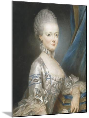 Marie-Antoinette de Lorraine-Habsbourg (1755-1793), alors archiduchesse d'Autriche en 1769-Joseph Ducreux-Mounted Giclee Print