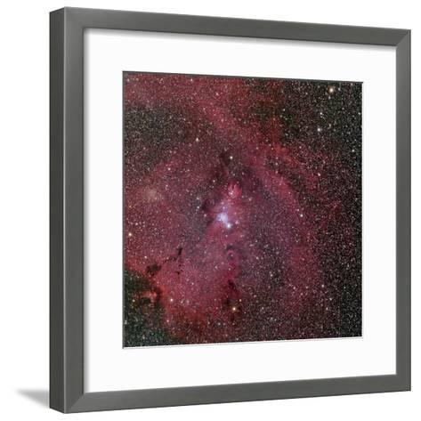 NGC 2264, the Cone and Christmas Tree Nebula-Stocktrek Images-Framed Art Print