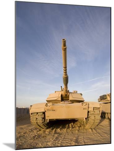 M1 Abrams Tank at Camp Warhorse-Stocktrek Images-Mounted Photographic Print