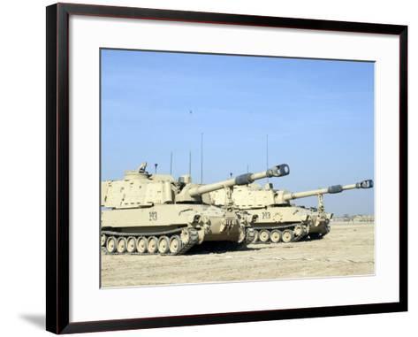 M109 Paladin, a Self-Propelled 155mm Howitzer-Stocktrek Images-Framed Art Print