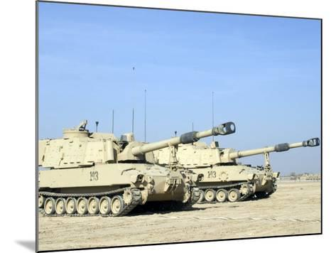M109 Paladin, a Self-Propelled 155mm Howitzer-Stocktrek Images-Mounted Photographic Print