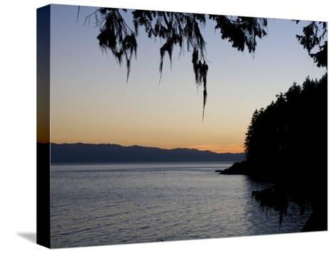 Sunset on the Pacific Coast of Vancouver Island, Sooke, British Columbia, Vancouver Island, Canada-Taylor S^ Kennedy-Stretched Canvas Print